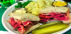Kaiserhof Restaurant corned beef sandwich