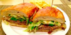 philly cheesesteak Hob Nob Hill Restaurant