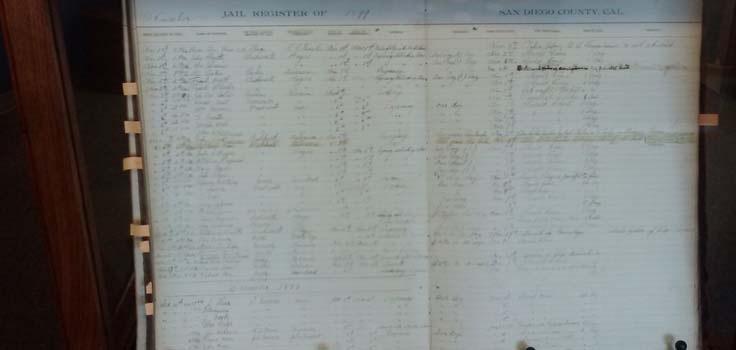 sd sherrif museum jail register