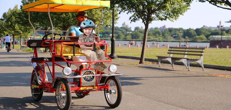 wheel-fun-Dad Son Surrey