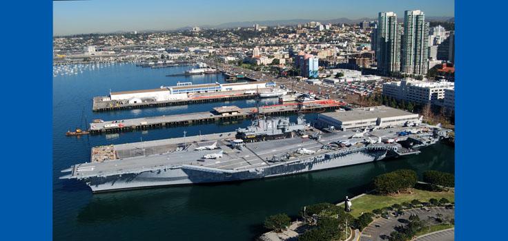 USS Midway & Embarcadero