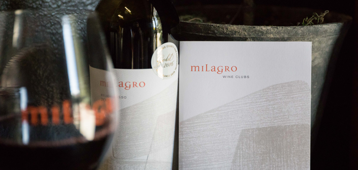 Milagro table wine club