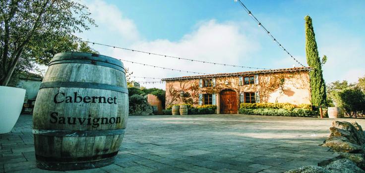 Milagro winery scenic