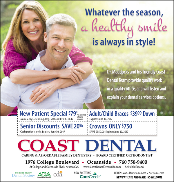 Schedule Your Winter Cleaning Appointment at Coast Dental