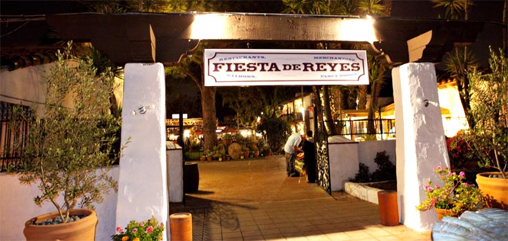Fiesta de Reyes-Entrance