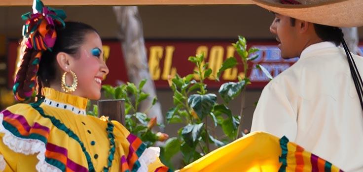 Fiesta de Reyes-dancers