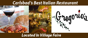 Gregorios Italian Restaurant Carlsbad