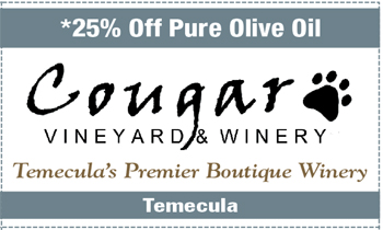 Coupon for Cougar Vineyard & Winery