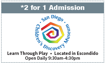 Coupon for San Diego Children's Discovery Museum