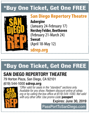 San Diego Repertory Theatre In Dowtown Live Theatre