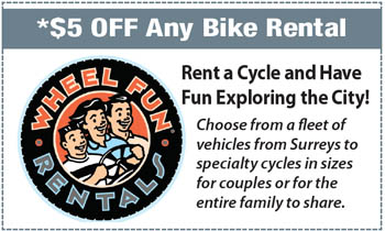 Coupon for Wheel Fun Rentals