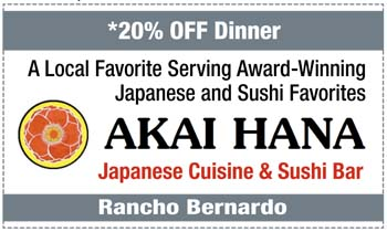 Coupon for Akai Hana Japanese Cuisine and Sushi Bar