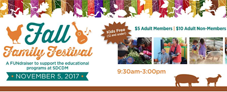 San Diego Children's Discovery Museum's Presents Fall Family