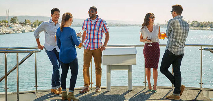 Hornblower Cruises and Events San Diego happy hour