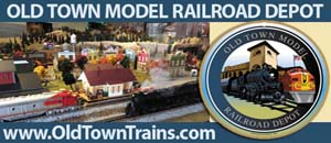Old Town Model Train Depot