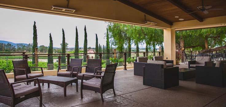 DeAnza del sol winery view