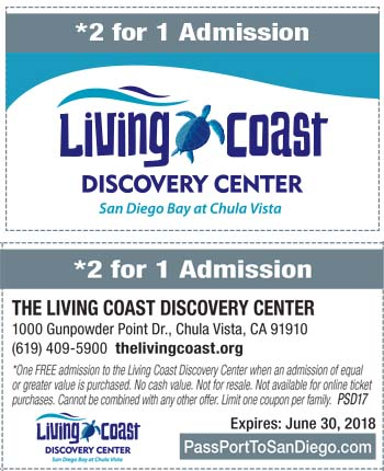 living spaces printable coupon living coast discovery center a unique zoo and aquarium 23456 | Living coast discovery center coupon