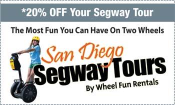 Coupon for San Diego Segway Tours