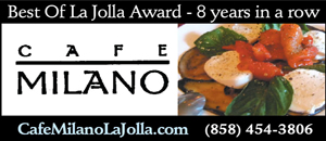 Cafe Milano Italian Restaurant La Jolla