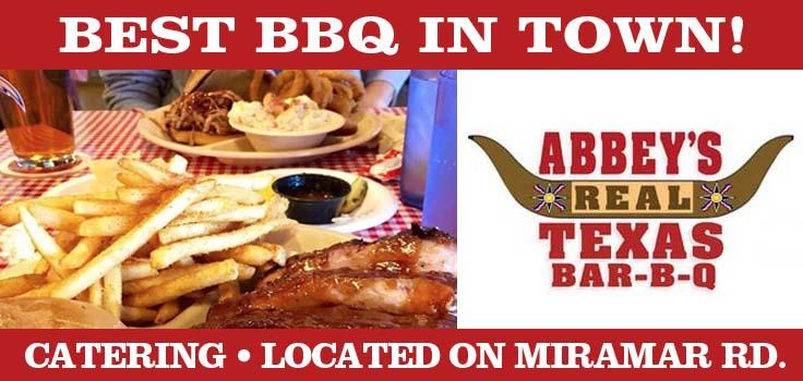 Abbeys Real Texas BBQ San Diego
