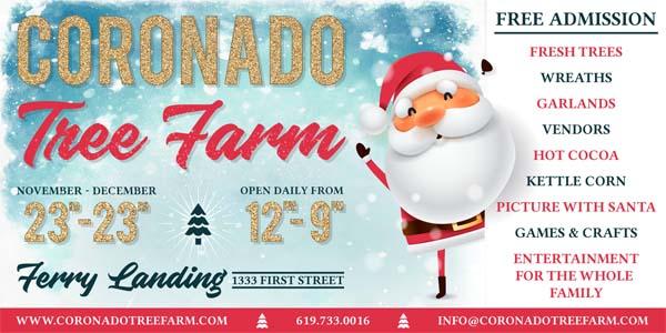 Coronado Ferry Landing Tree Farm