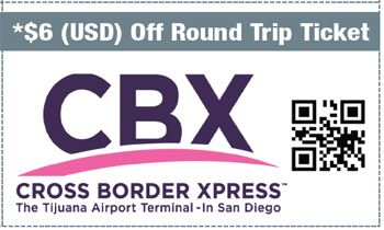 Coupon for Cross Border Xpress (CBX)