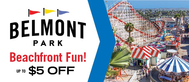Belmont Park Amusement Park San Diego Attraction