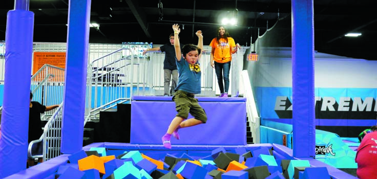 Altitude Trampoline Park in Vista