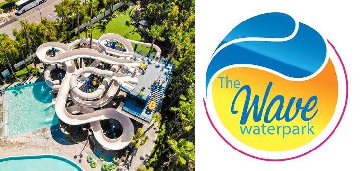 Wave waterpark ariel shot