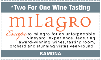 Coupon for Milagro Winery