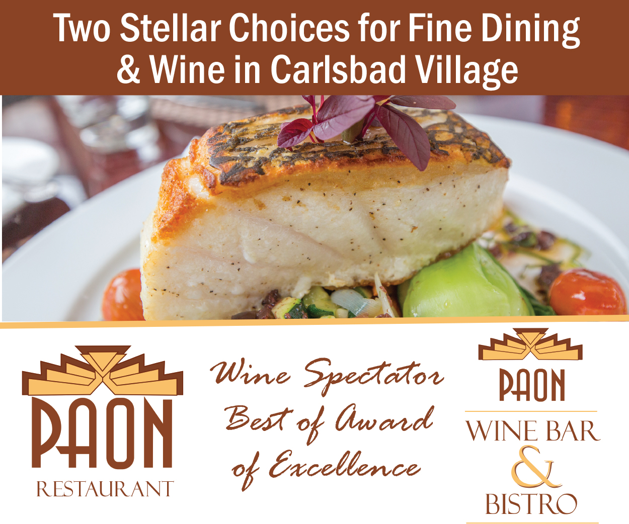Paon Restaurant Carlsbad