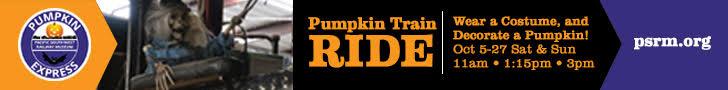 Pacific Southwest Railray Museum Pumkin Express