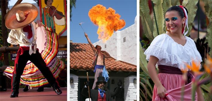 Fiesta de Reyes-fire-dancers