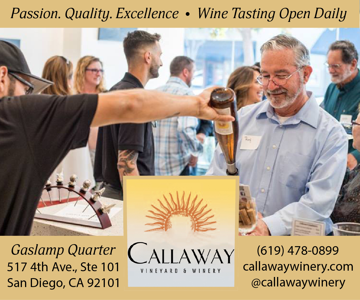 Callaway Winery Wine Tasting Coupon Temecula