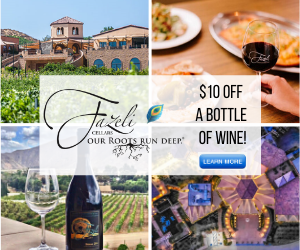 Fazeli Cellars Wine Coupon Discount Special