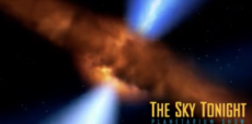 The Sky Tonight Planetarium Show–picture of expanding universe