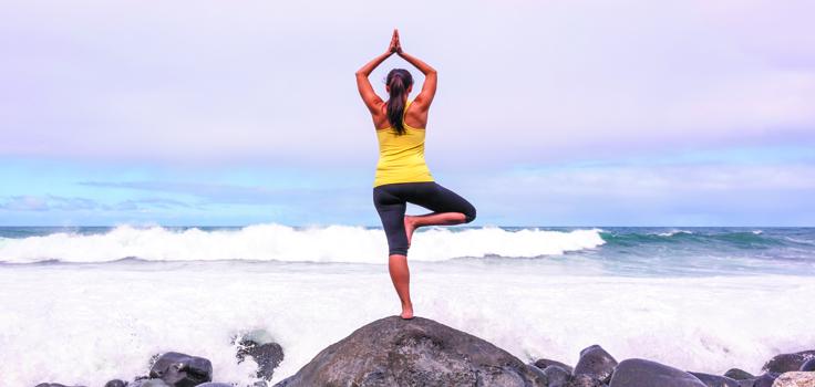 San Diego Health-yoga-ocean