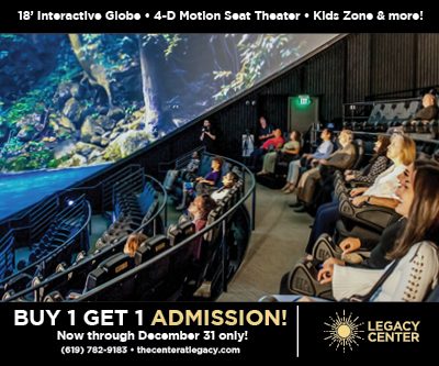 Legacy International Center Theater BOGO