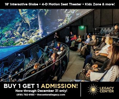 Legacy International Center Theater BOGO
