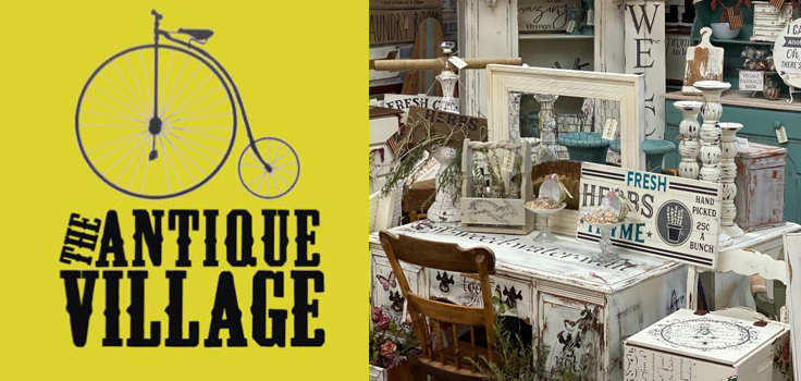 antique village logo