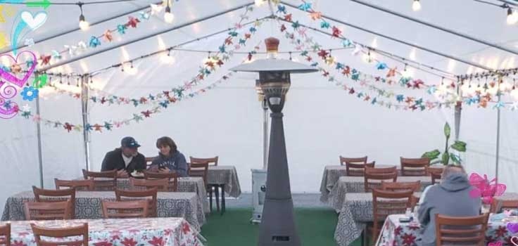 marieta's outdoor dining