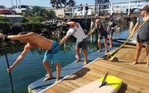 paddle board lessons aqua adventures san diego