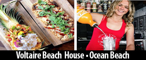 Voltaire Beach House Restaurant Ocean Beach