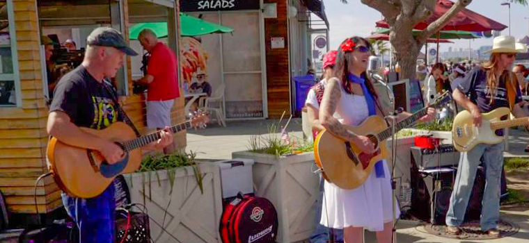 music concerts coronado Ferry Landing